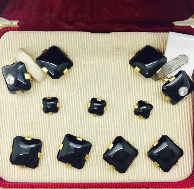 Krementz Vintage Cuff Link and Stud Set